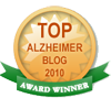 Alzheimer's dad is a Top Alzheimer's Blog.